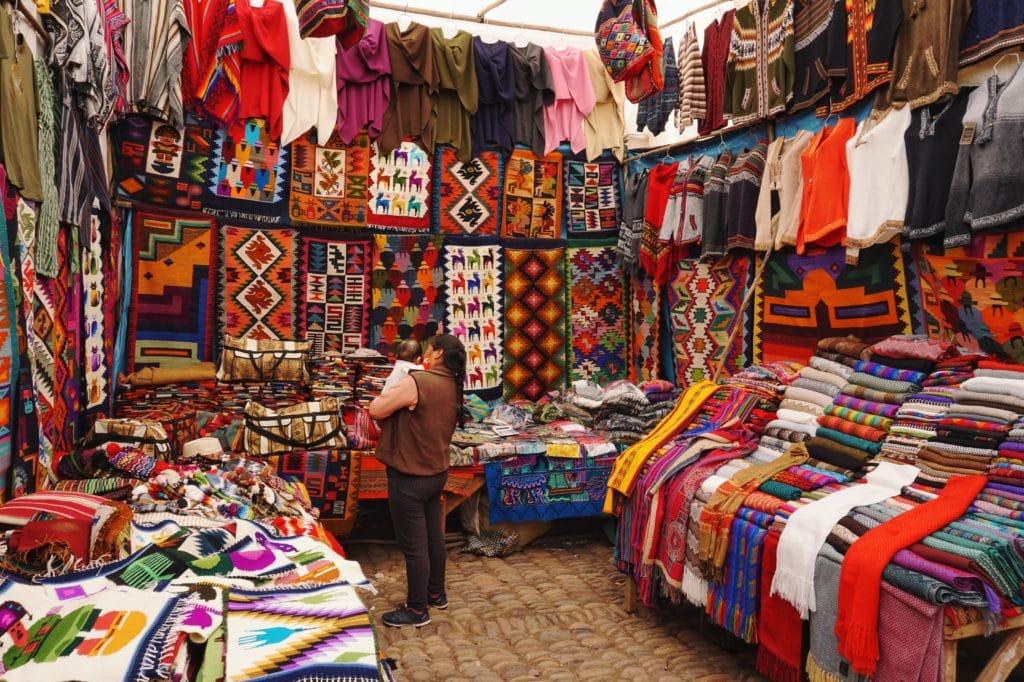 marché au Perou