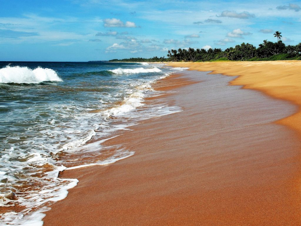 Sri Lanka plages