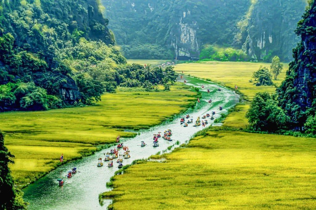 ville de Ninh Binh au sud de la capitale vietnamienne